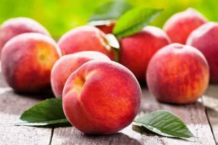 Value of peaches
